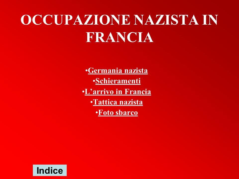 OCCUPAZIONE NAZISTA IN FRANCIA