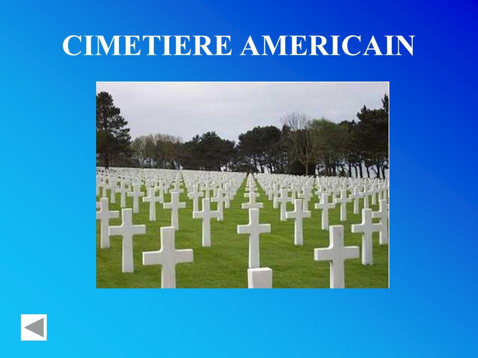 CIMETIERE AMERICAIN