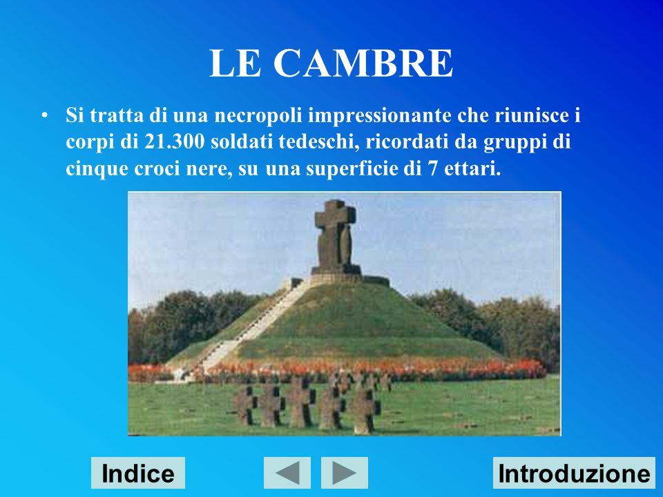 LE CAMBRE Indice Introduzione