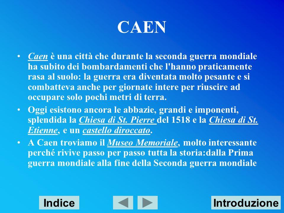 CAEN Indice Introduzione