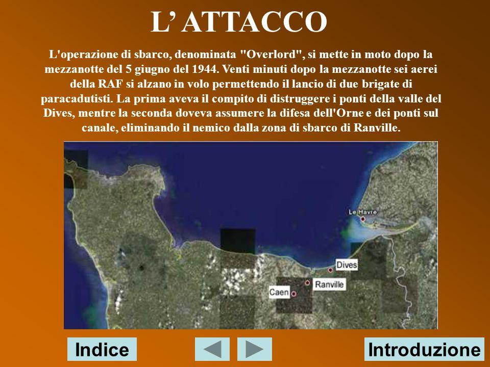 L' ATTACCO Indice Introduzione