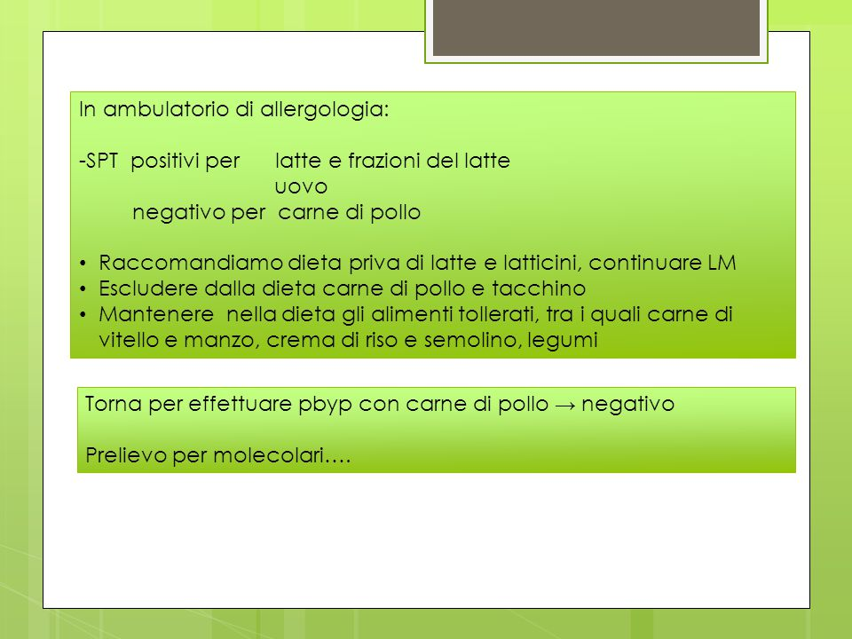 In ambulatorio di allergologia: