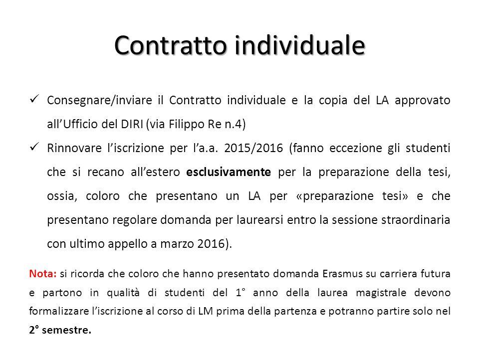 Contratto individuale