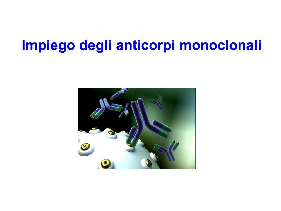 Impiego degli anticorpi monoclonali