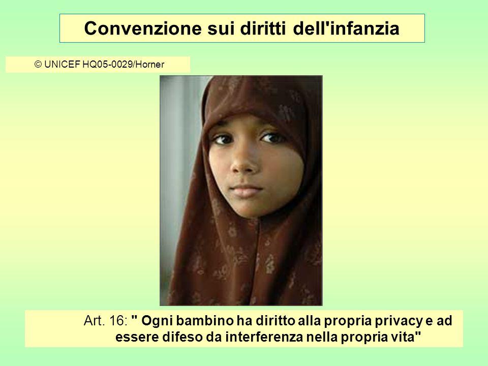 Convenzione sui diritti dell infanzia