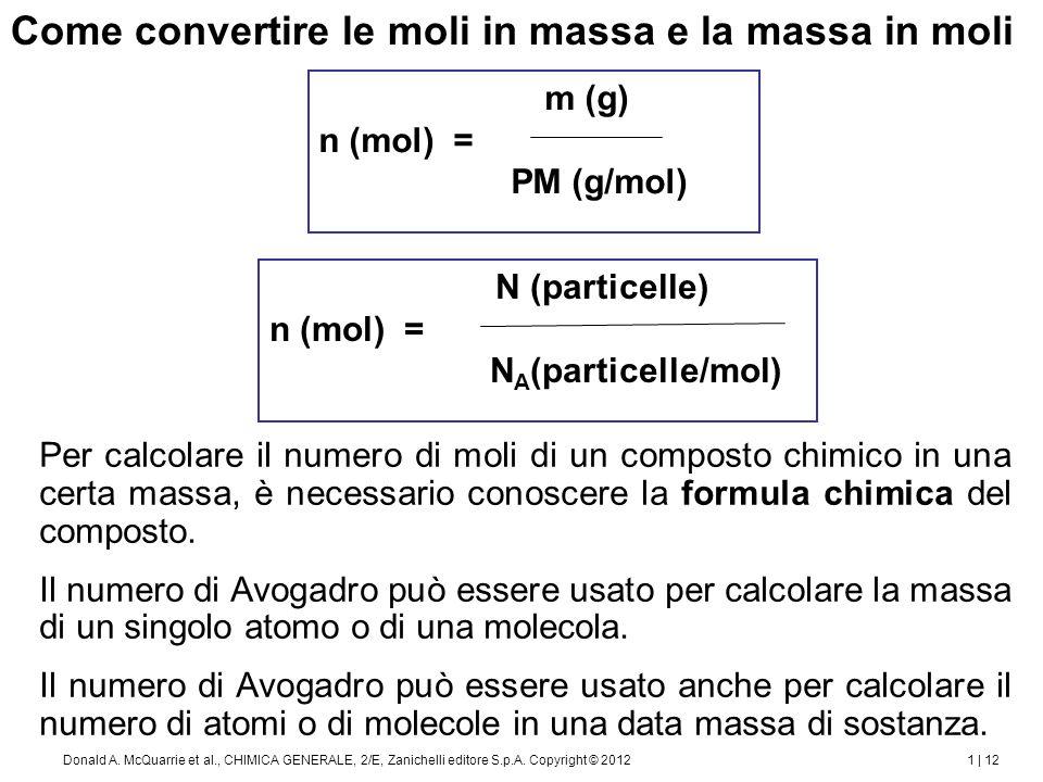 Determinazione delle formule dei composti
