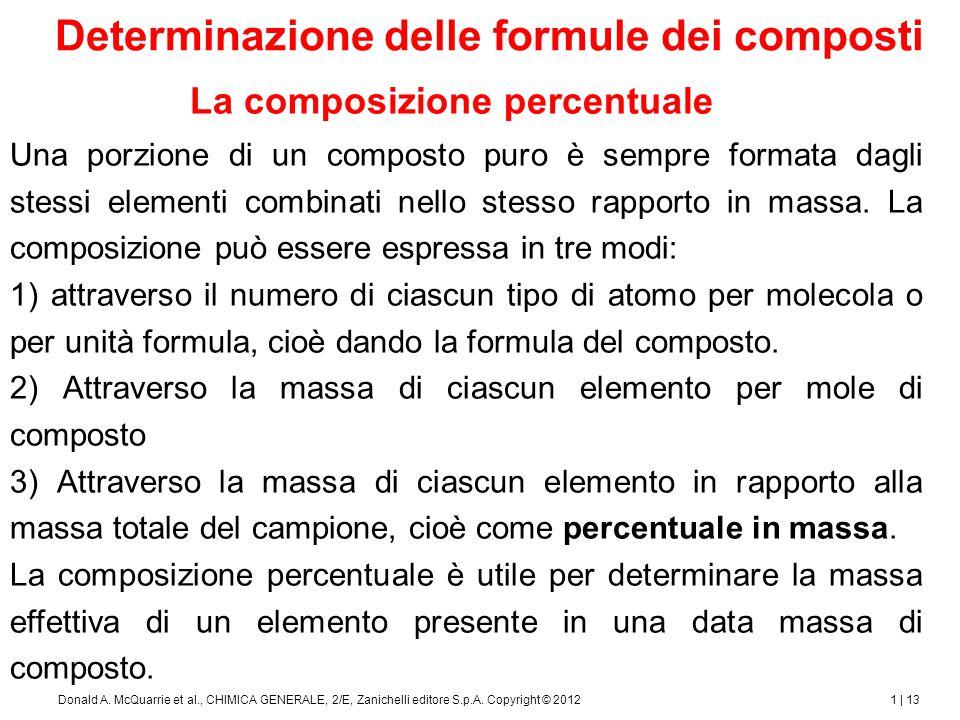 Formule minime e formule molecolari
