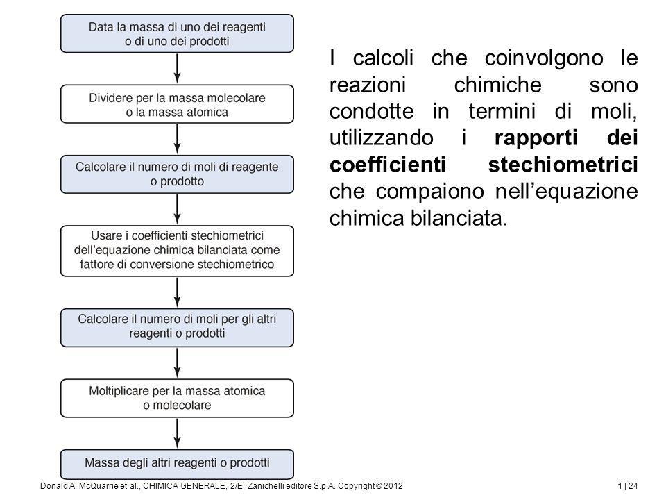 Non è sempre necessario conoscere l'equazione chimica per sviluppare i calcoli stechiometrici.