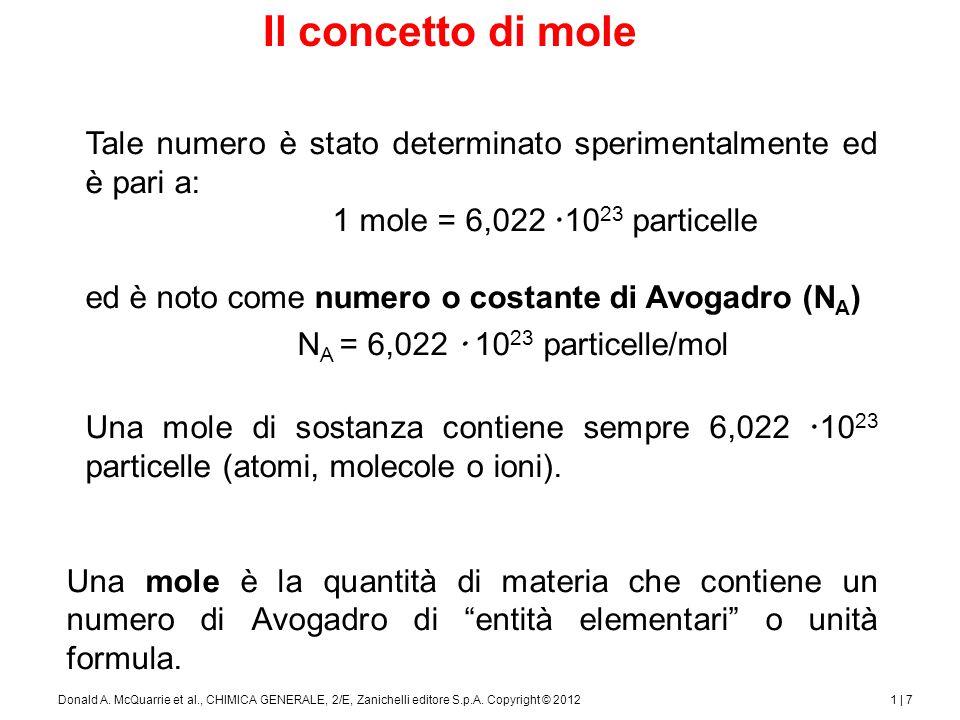 Atomi e massa molare
