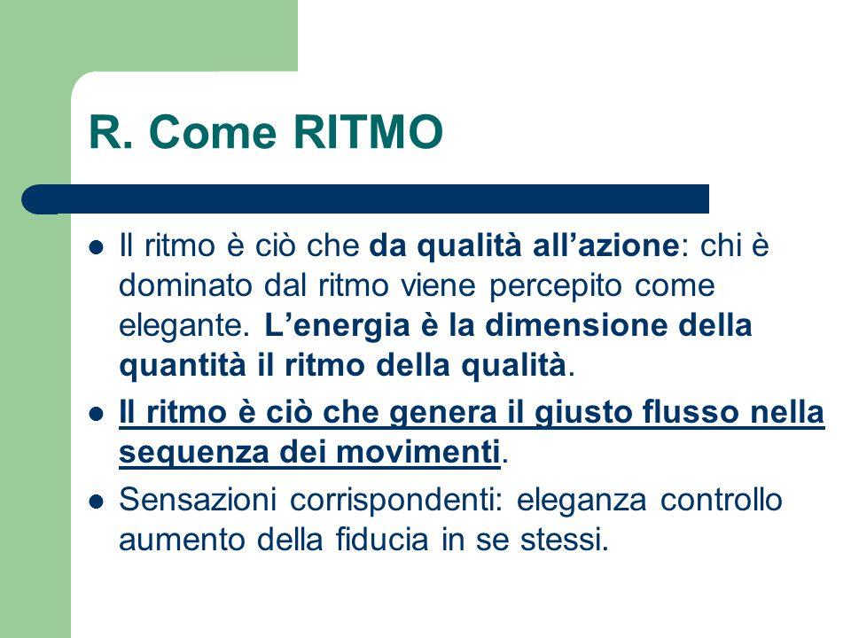 R. Come RITMO