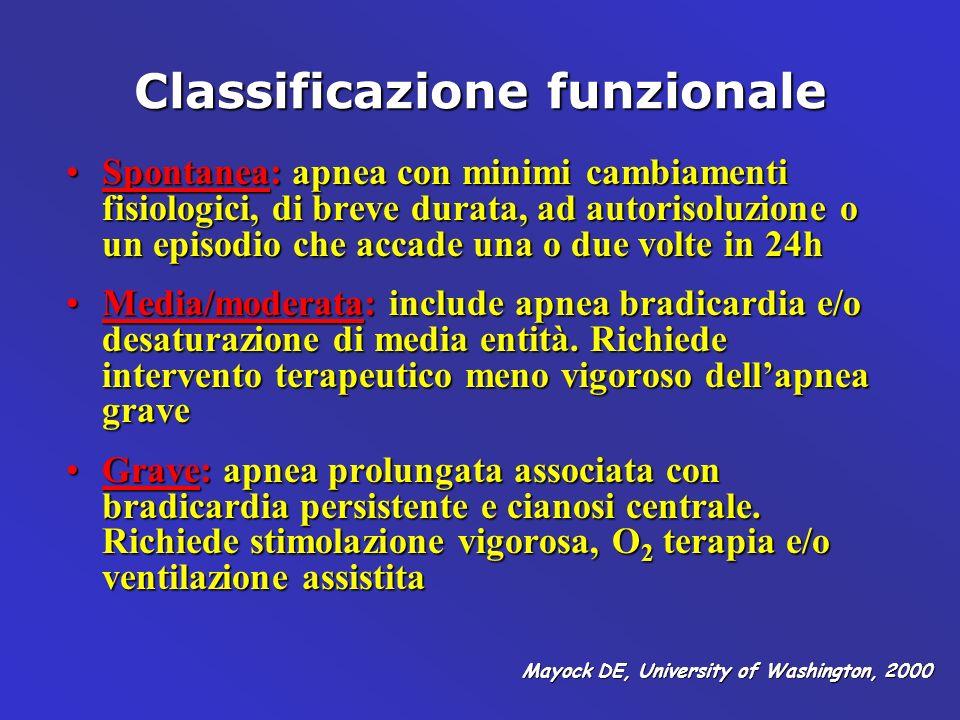 Classificazione funzionale