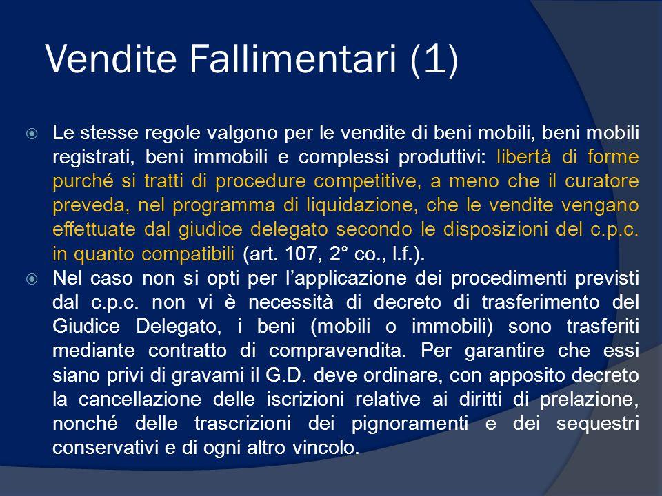 Vendite Fallimentari (1)
