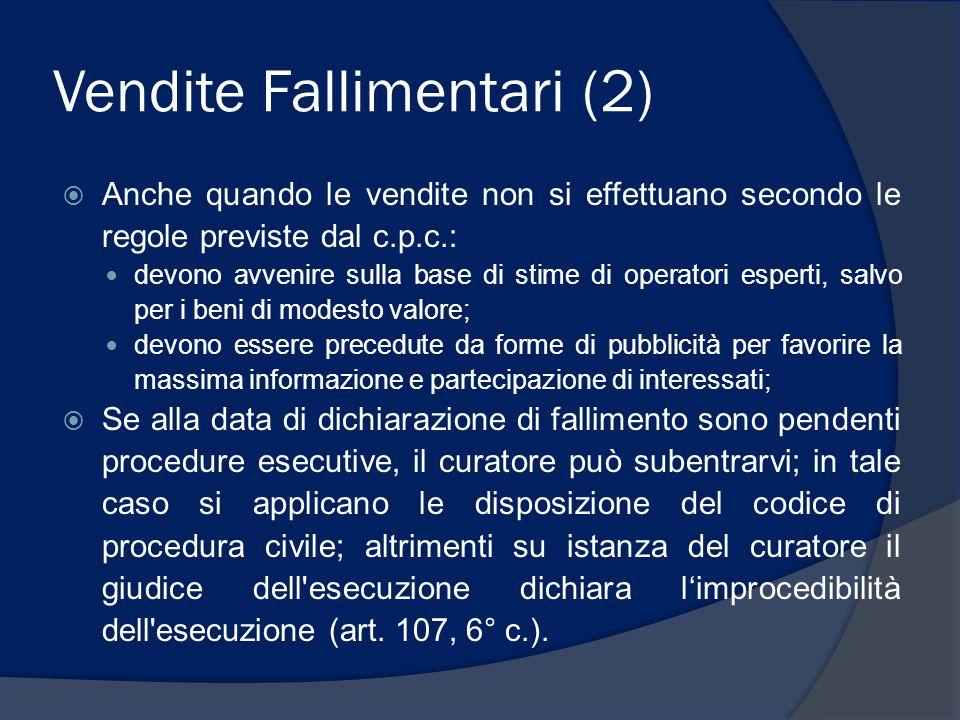 Vendite Fallimentari (2)
