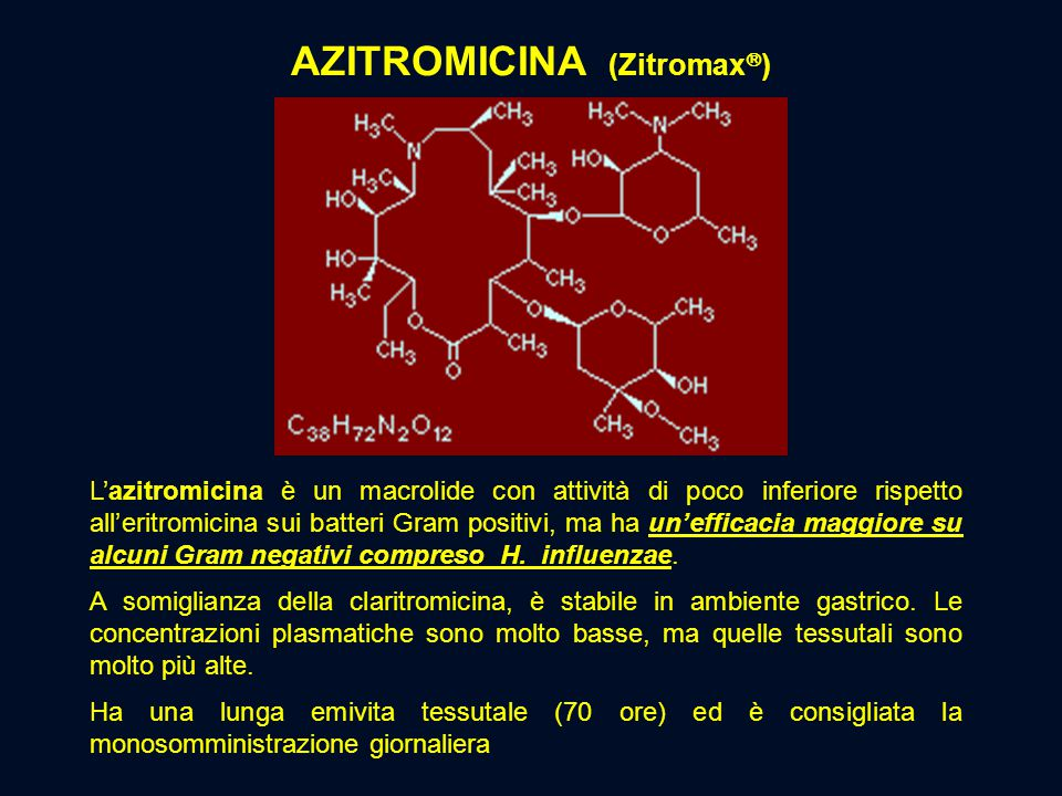 Azitromicina (Zitromax)