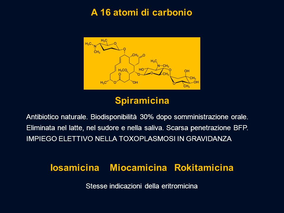 Iosamicina Miocamicina Rokitamicina