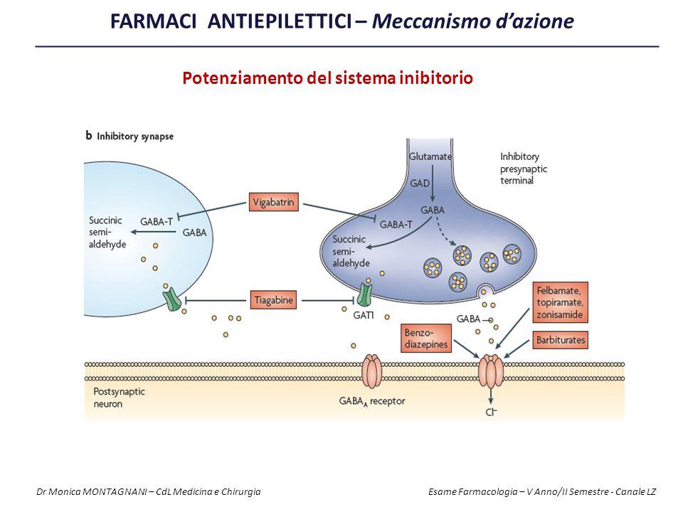FARMACI ANTIEPILETTICI – Meccanismo d'azione