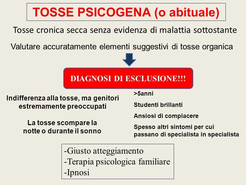TOSSE PSICOGENA (o abituale)