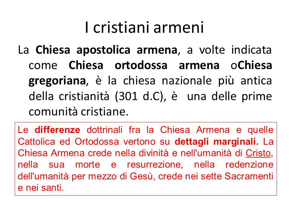 I cristiani armeni
