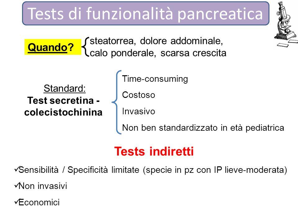Test secretina - colecistochinina