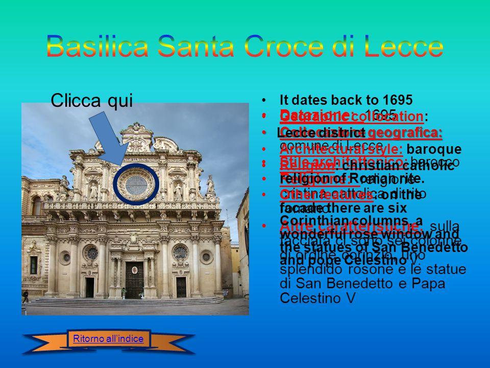 Basilica Santa Croce di Lecce