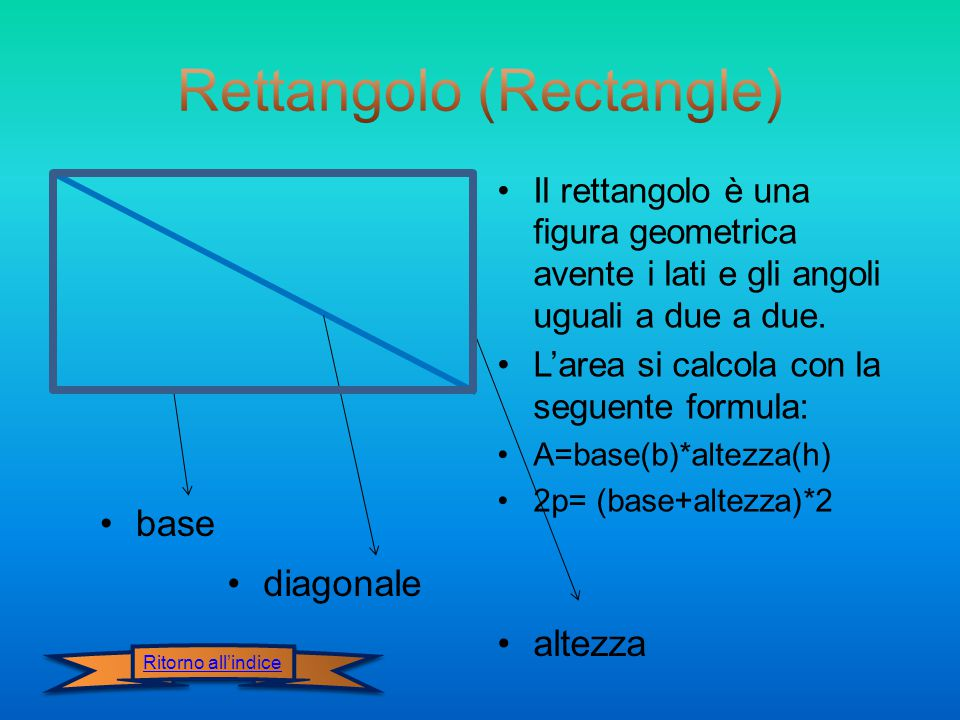 Rettangolo (Rectangle)