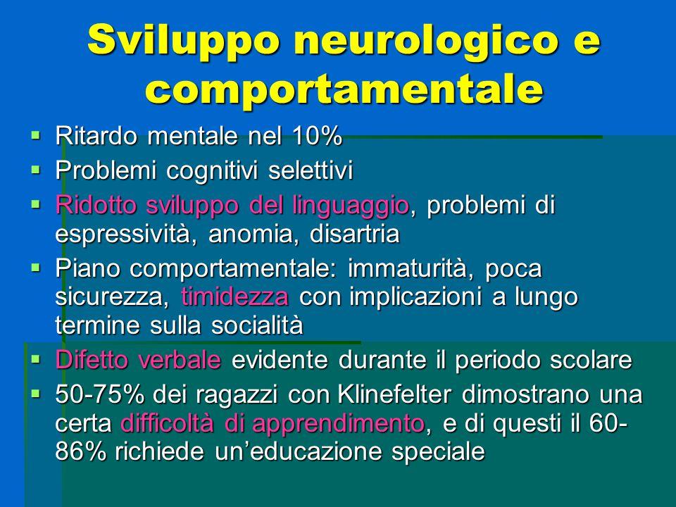Sviluppo neurologico e comportamentale