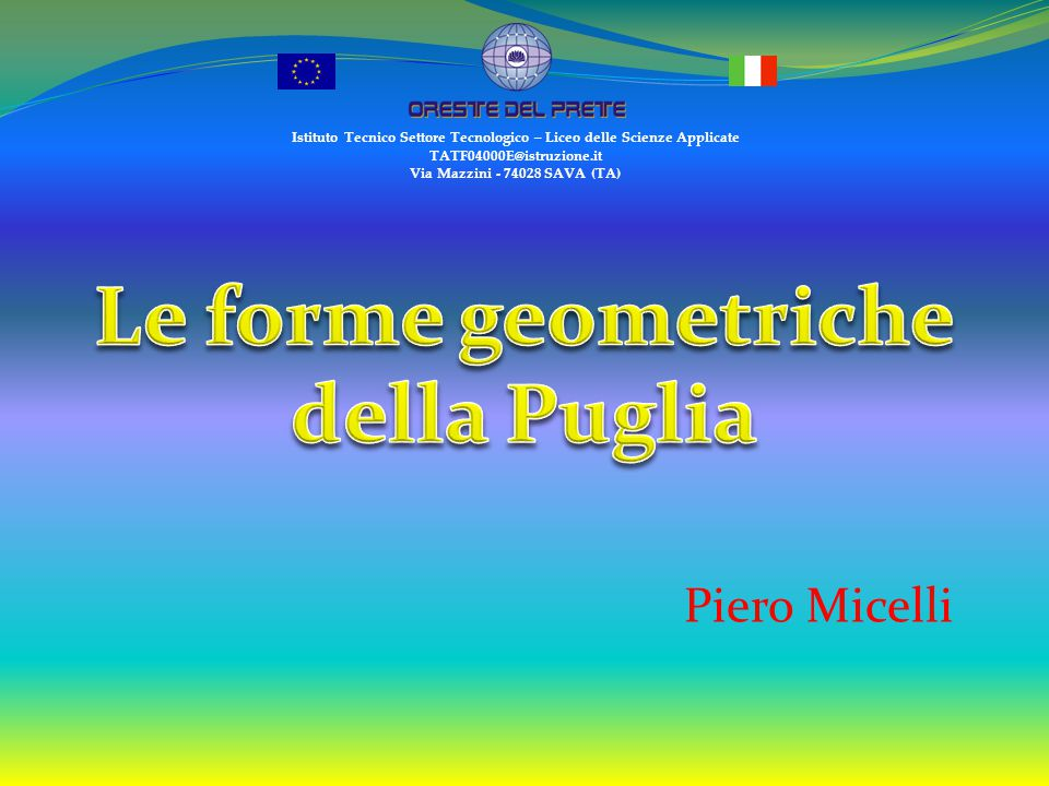 Le forme geometriche della Puglia