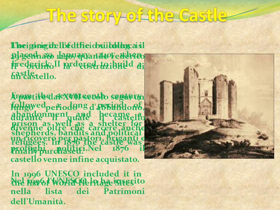 The story of the Castle