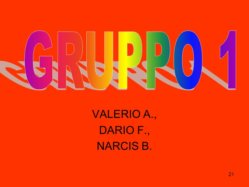 VALERIO A., DARIO F., NARCIS B.