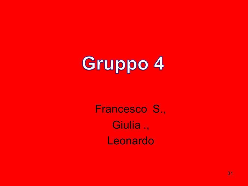Francesco S., Giulia ., Leonardo