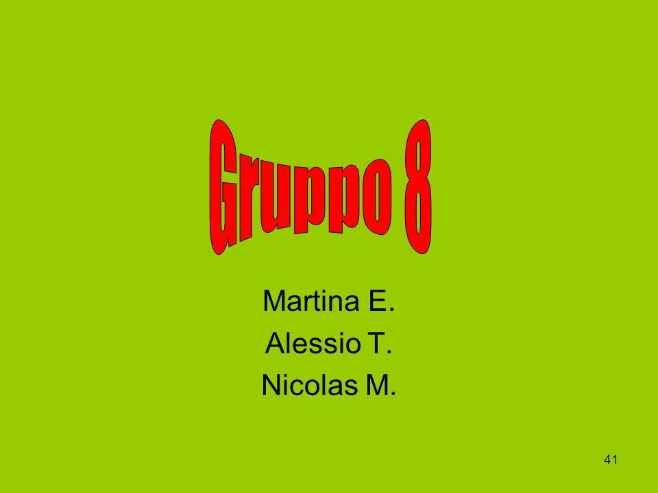 Martina E. Alessio T. Nicolas M.
