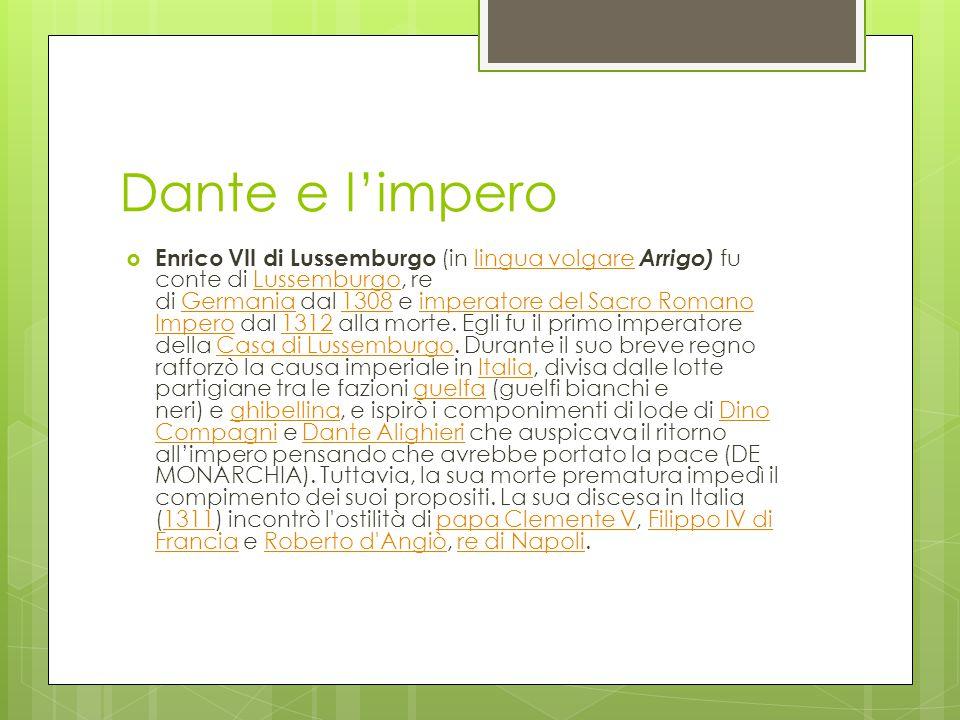 Dante e l'impero