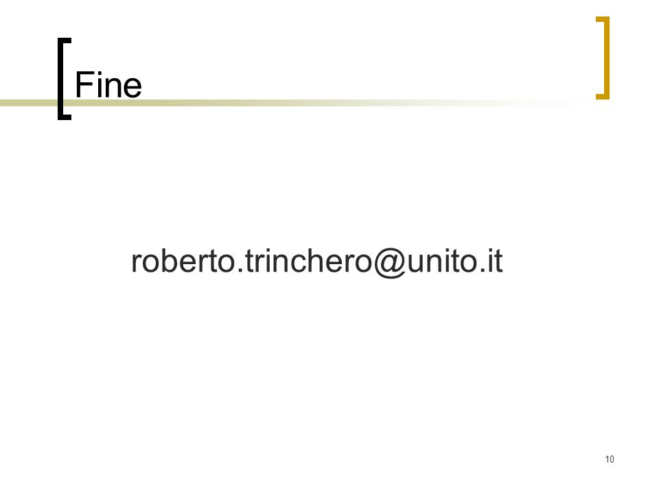 Fine roberto.trinchero@unito.it