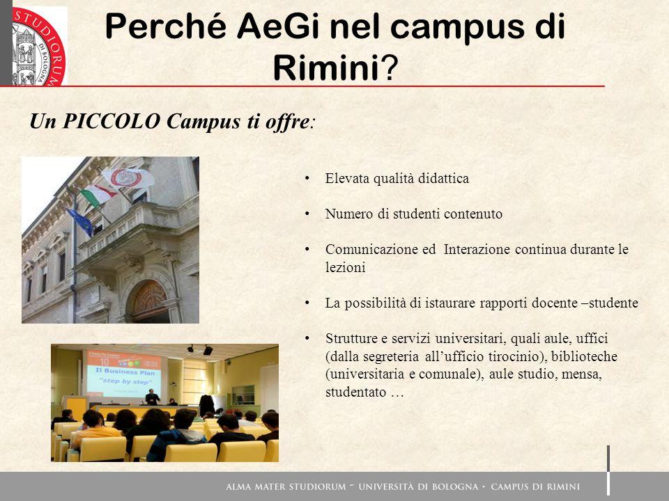 Perché AeGi nel campus di Rimini