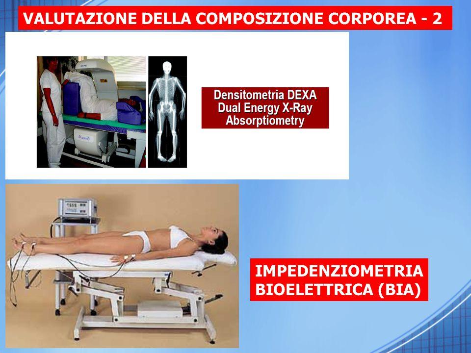 VALUTAZIONE DELLA COMPOSIZIONE CORPOREA - 2