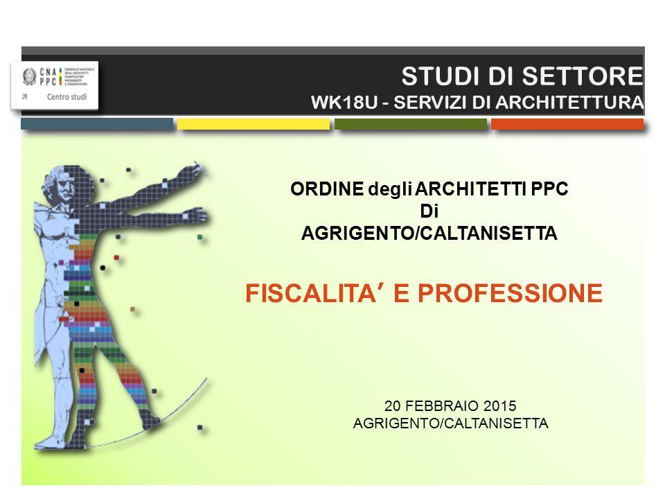 FISCALITA' E PROFESSIONE