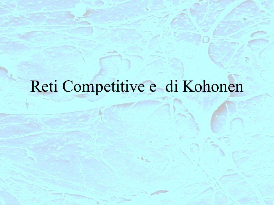 Reti Competitive e di Kohonen