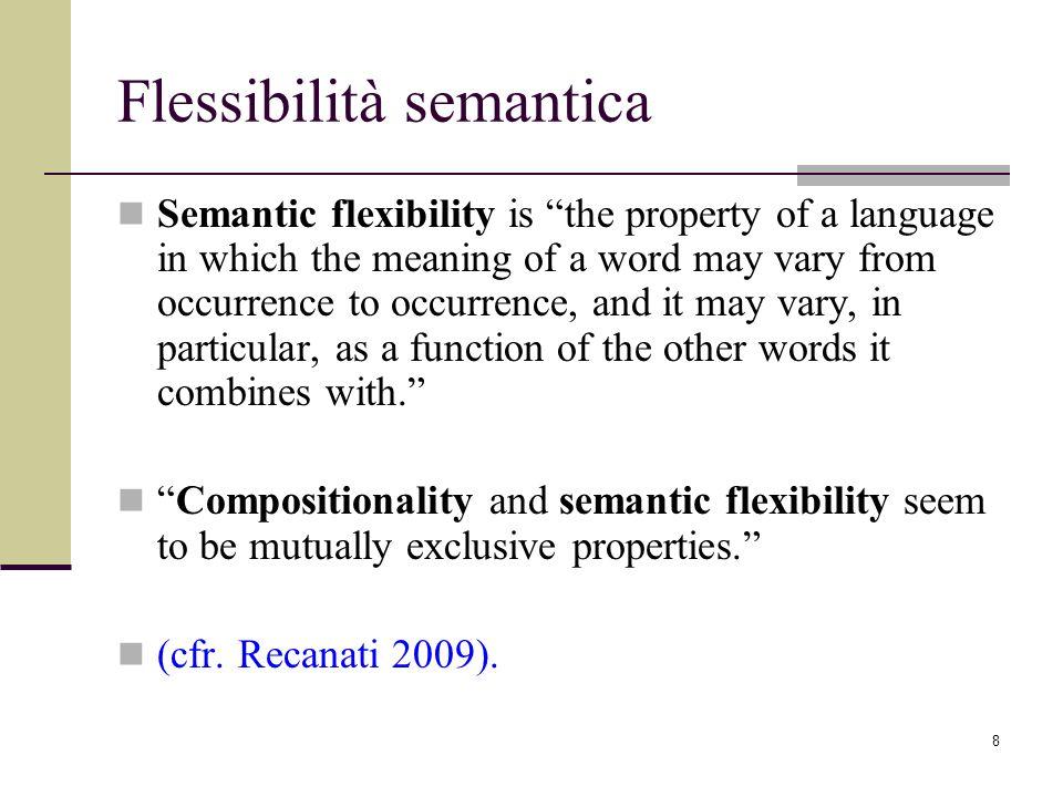 Flessibilità semantica