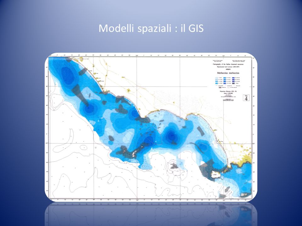 Modelli spaziali : il GIS