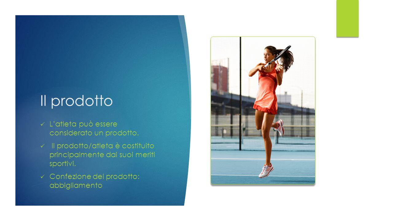 Il prodotto L'atleta può essere considerato un prodotto.