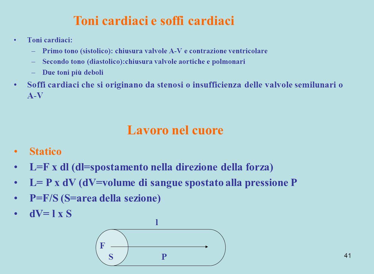 Toni cardiaci e soffi cardiaci