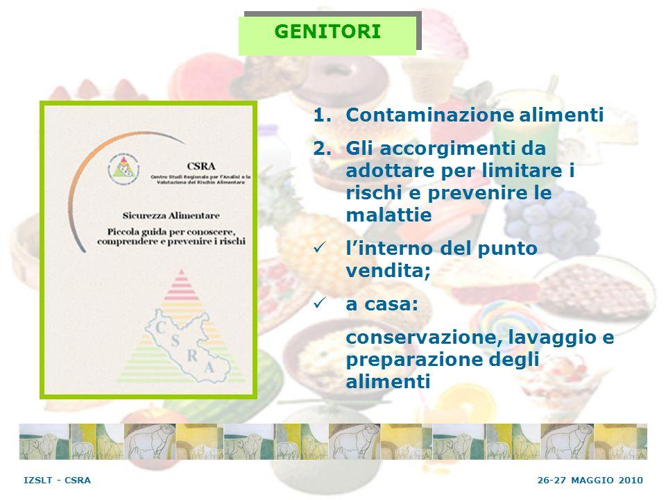 Contaminazione alimenti