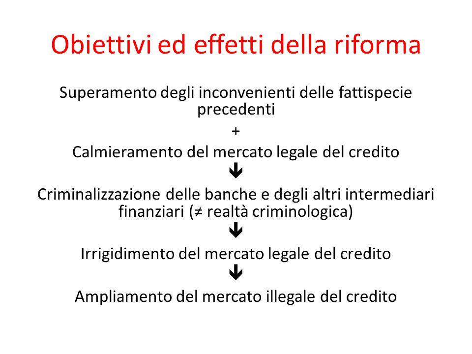 Obiettivi ed effetti della riforma