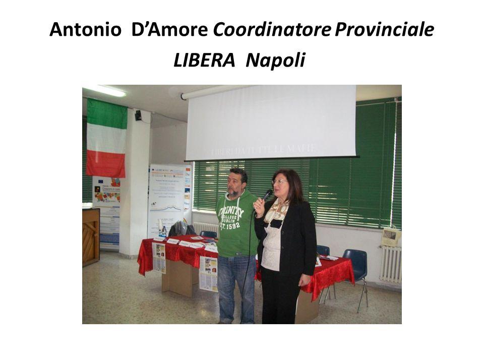 Antonio D'Amore Coordinatore Provinciale LIBERA Napoli