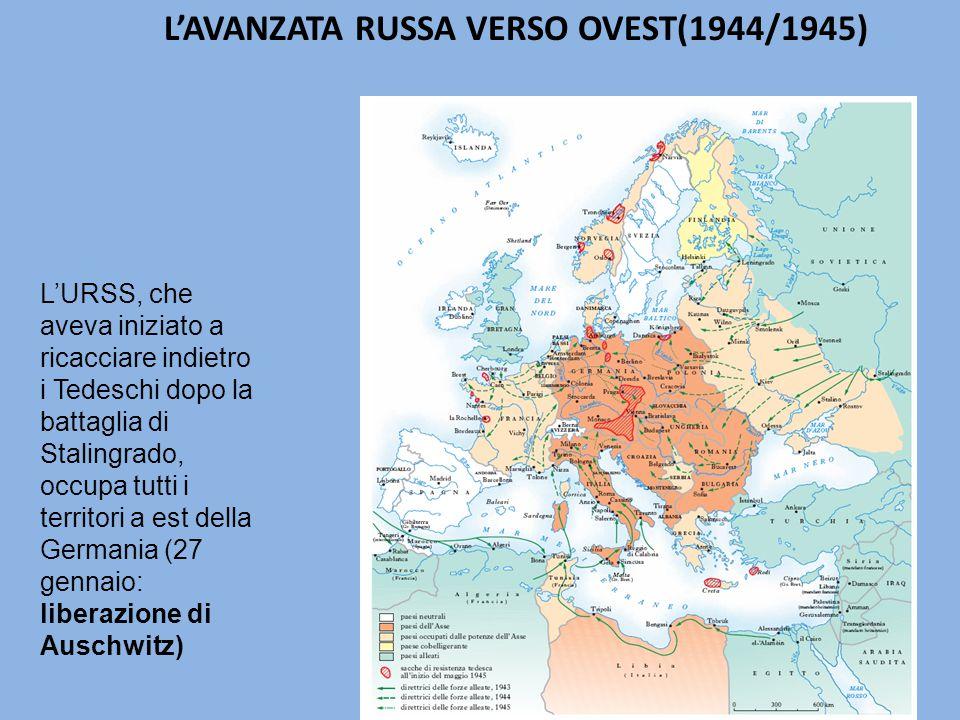L'AVANZATA RUSSA VERSO OVEST(1944/1945)