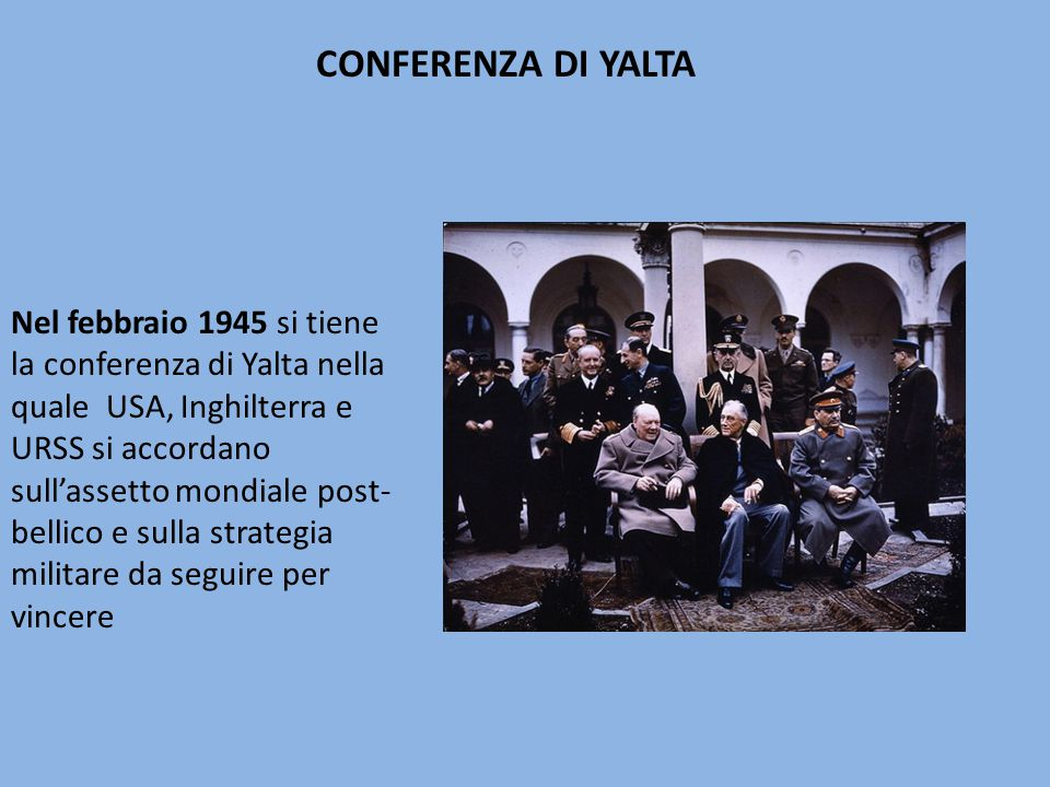 CONFERENZA DI YALTA