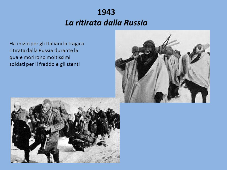 La ritirata dalla Russia