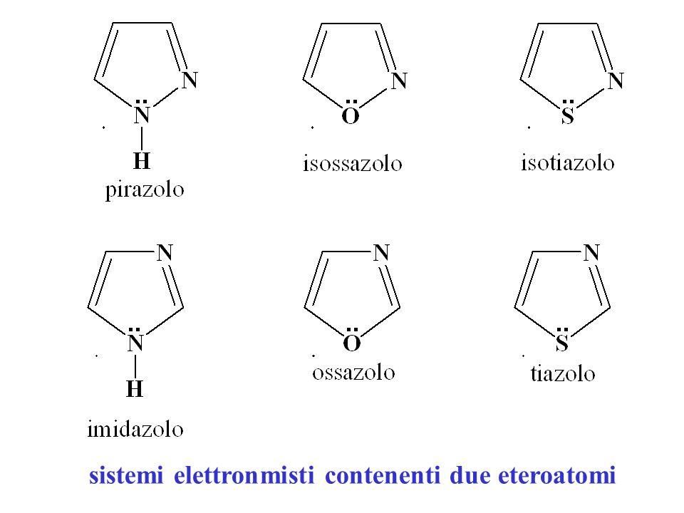 sistemi elettronmisti contenenti due eteroatomi