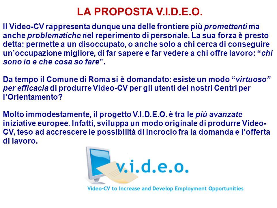 LA PROPOSTA V.I.D.E.O.
