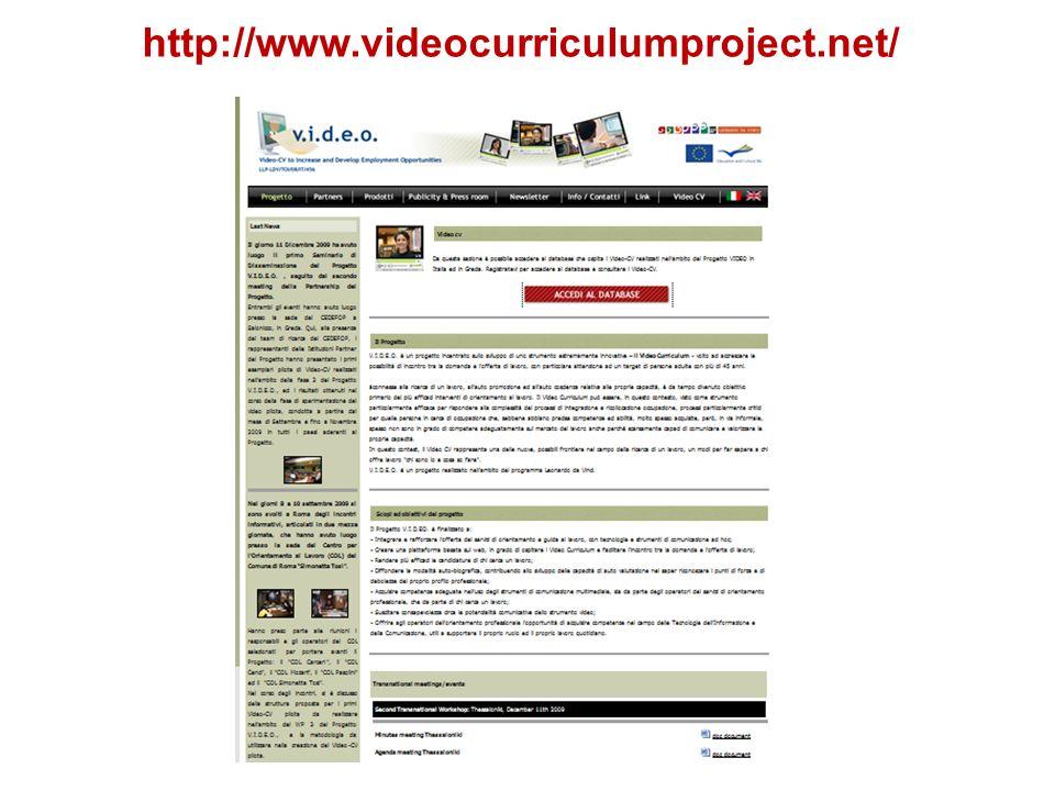 http://www.videocurriculumproject.net/ 9